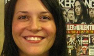 Nichola Browne, editor of Kerrang!