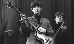 """The Beatles: John Lennon and Paul McCartney in BBC archive shot"""