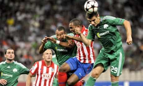Athletico Madrid - Panathinaikos