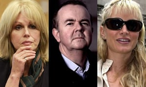 Joanna Lumley, Ian Hslop and Caprice Bourret