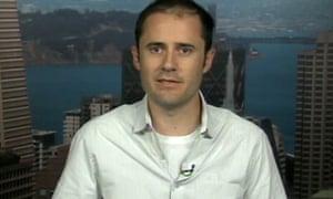 Evan Williams on Newsnight