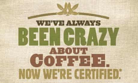 Starbucks Fairtrade ad