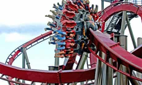 Scream if You Know the Answer! Nemesis ride at Thorpe Park