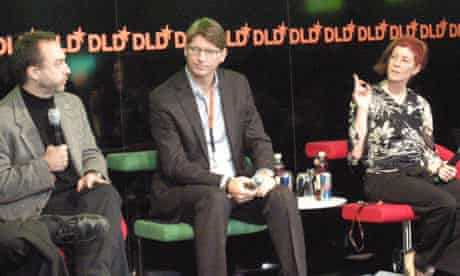 Jimmy Wales of Wikipedia, Niklas Zennström of Skype, and Mitchell Baker of the Mozilla Foundation