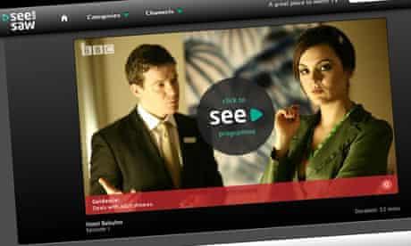 SeeSaw screen grab