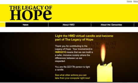 Holocaust Candle HMD