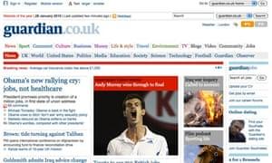 Guardian.co.uk January 2010