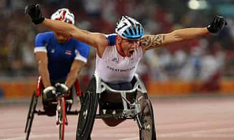Paralympics 2008: Great Britain's David Weir wins gold