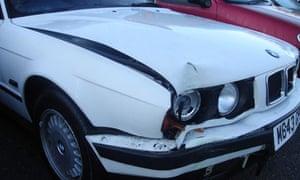 Darren Schuster's car