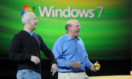 Microsoft CEO Steve Ballmer and Windows president Steven Sinofsky