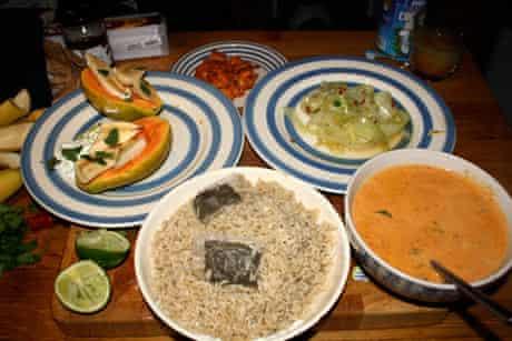 Susan Smillie's Jamie Oliver meal