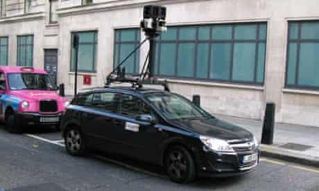 Google Street View London