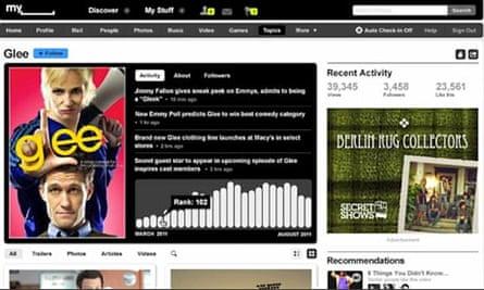 MySpace - October 2010