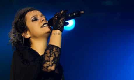 Lily Allen In Concert