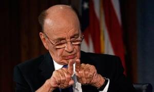 News Corp Chairman and CEO Rupert Murdoch