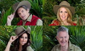 I'm a Celebrity 2010: Nigel Havers, Gillian McKeith, Lembit Opik and Stacey Solomon