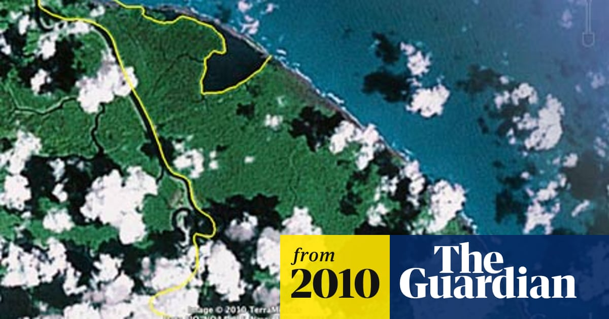 Google Nicaraguan Map Error Threatens To Escalate Into Regional Dispute Google The Guardian