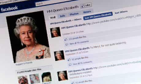 The Queen's Facebook page