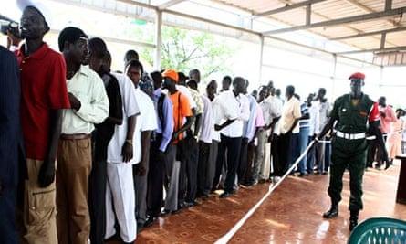 Registration for South Sudan referendum starts