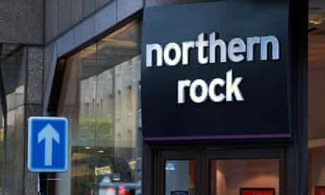 Northern Rock's Houndsditch branch