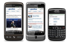 The new m.guardian site