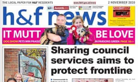 Council-run newspppaers - H&F News