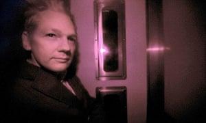 Wikileaks founder Julian Assange is pict