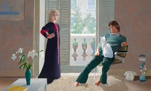 Mr and Mrs by David Hockney for Dulwich Picture Gallery