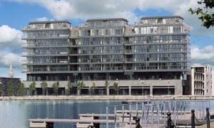 Dublin's Hanover Quay, home to Facebook