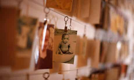 Photograph of a Rwandan child at Kigali genocide Memorial