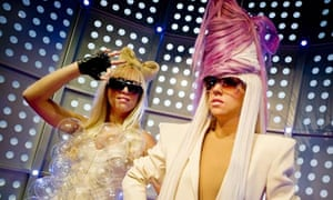 Wax Lady Gaga at Madame Tussauds in Amsterdam