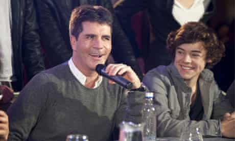 Simon Cowell at The X Factor 2010 final launch
