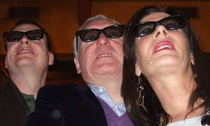 Bertie Ahern 3D television