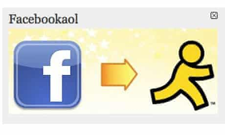 aol facebook