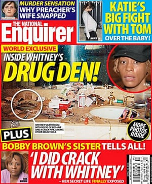 National Enquirer: Allegations about Whitney Houston