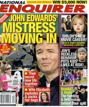 National Enquirer: 'World exclusive' about John Edwards