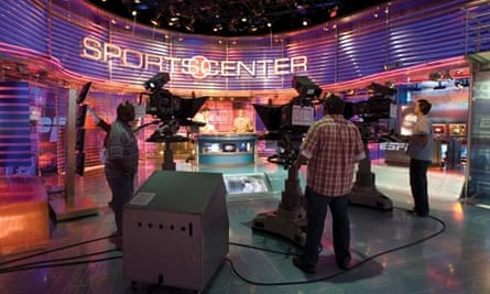 ESPN's SportsCenter studio