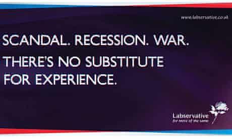 Lib Dem 'Labservative' poster