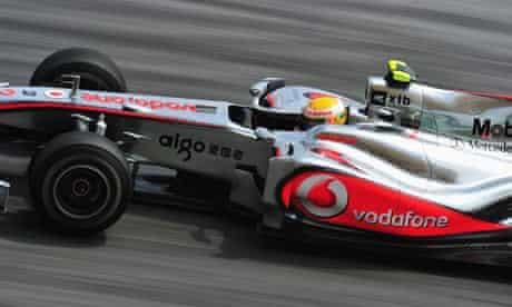 McLaren GP car