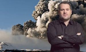 Icelandic volcano and Chris Moyles