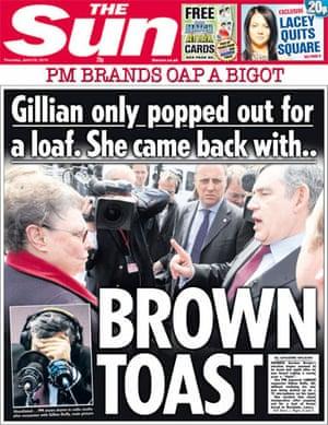 Gordon Brown bigot row: The Sun