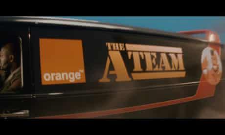 Orange spoof A-Team trailer