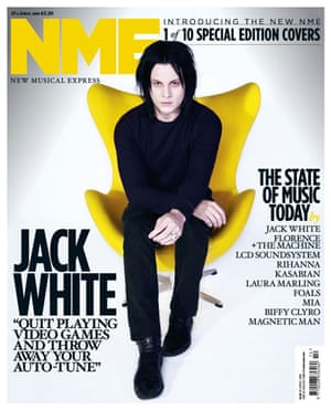 NME relaunch covers: Jack White