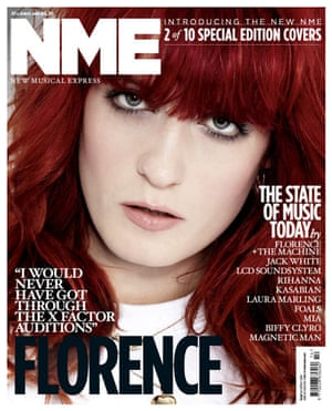 NME relaunch covers: Florence Welch