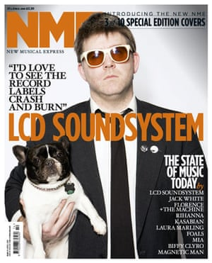 NME relaunch covers: LCD Soundsystem