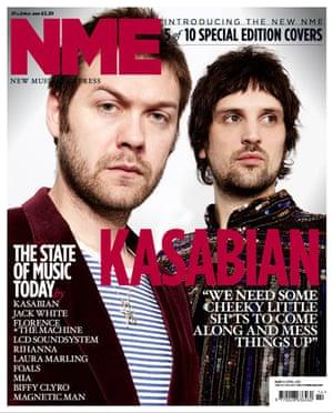 NME relaunch covers: Kasabian