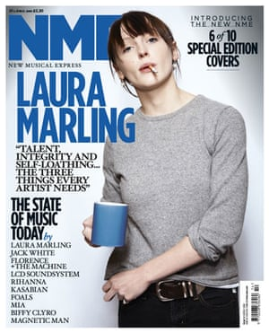 NME relaunch covers: Laura Marling