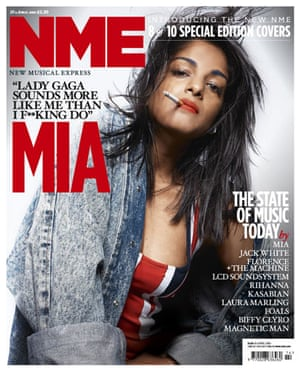 NME relaunch covers: MIA