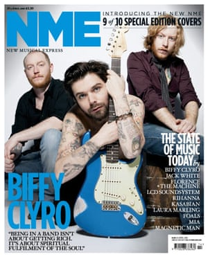 NME relaunch covers: Biffy Clyro