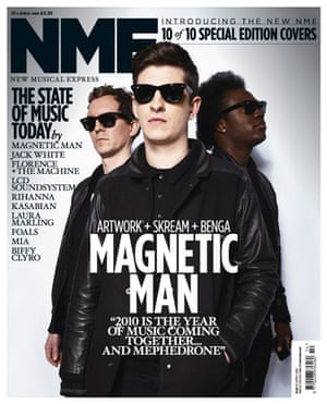 NME relaunch covers: Magnetic Man